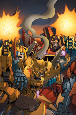 Transformers RID #16 cover colors