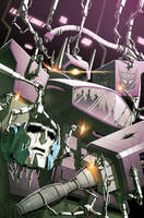Transformers RID #17 cover colors by khaamar