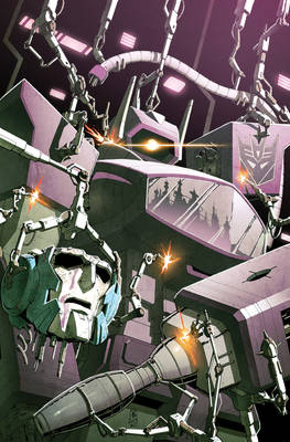 Transformers RID #17 cover colors