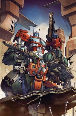 Transformers RID #19 cover B colors