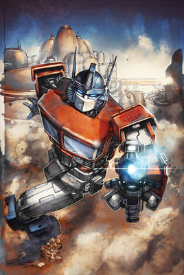 Transformers RID #19 cover colors