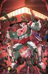 TF Dark Cybertron #4 cover colors