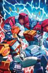 TF Dark Cybertron #9 cover colors