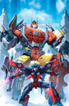 Transformers Combiner Wars #2 cover colors