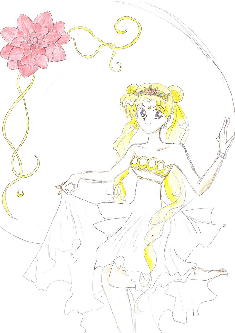 Princess Serenity-bad by OakEvolution