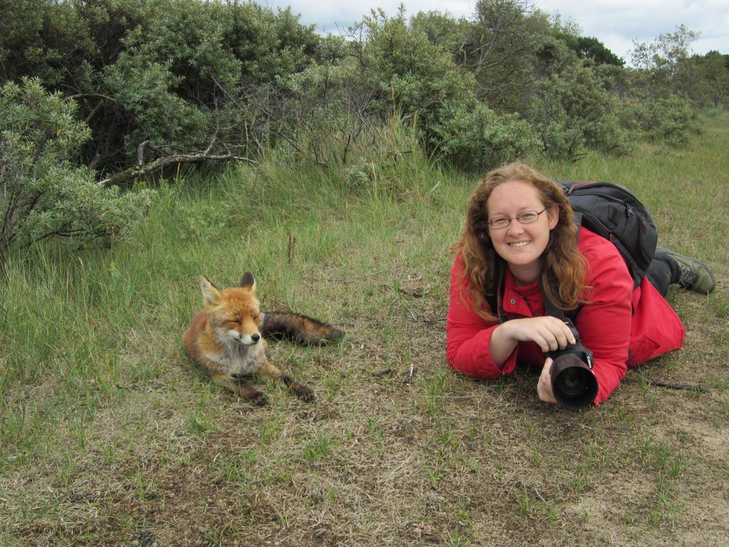 Me and my fav fox by AngelaLouwe
