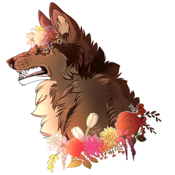 Flowers are Pretty But... I'm Allergic! YCH