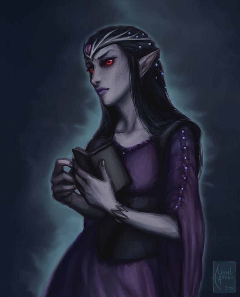 Seresie the Vampire by NihilAzari