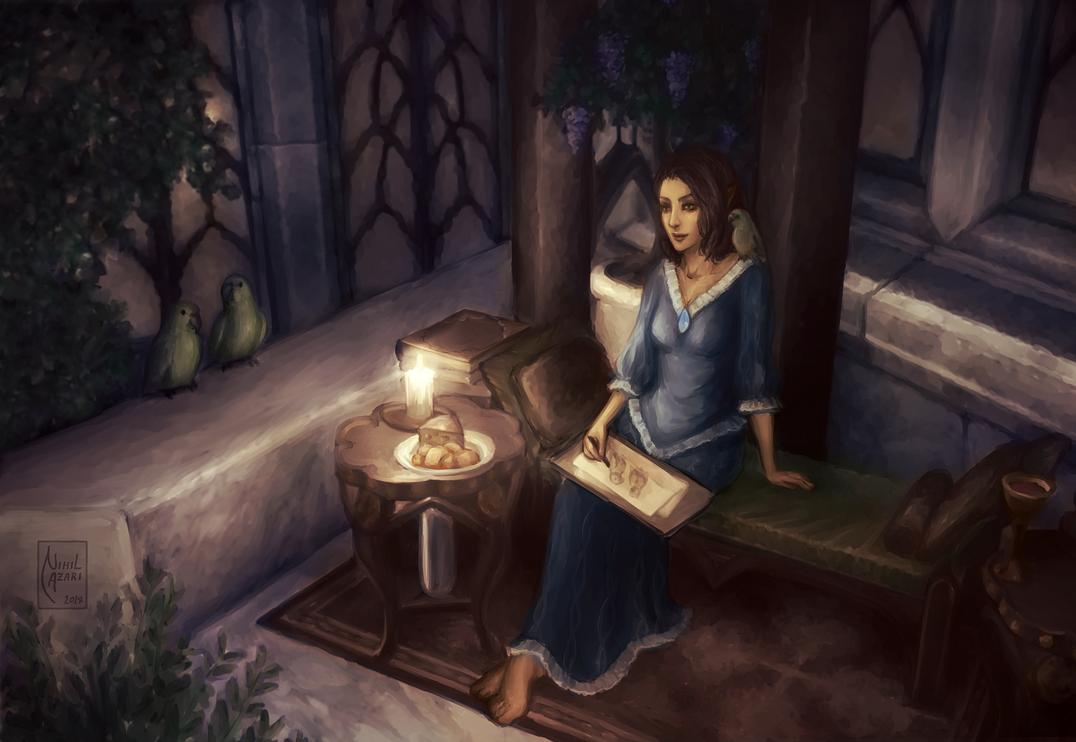 Lilisara of Lillandril by NihilAzari