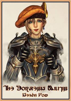 0037 Elisabeth Militia Poster X