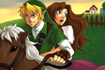 oot: link and malon