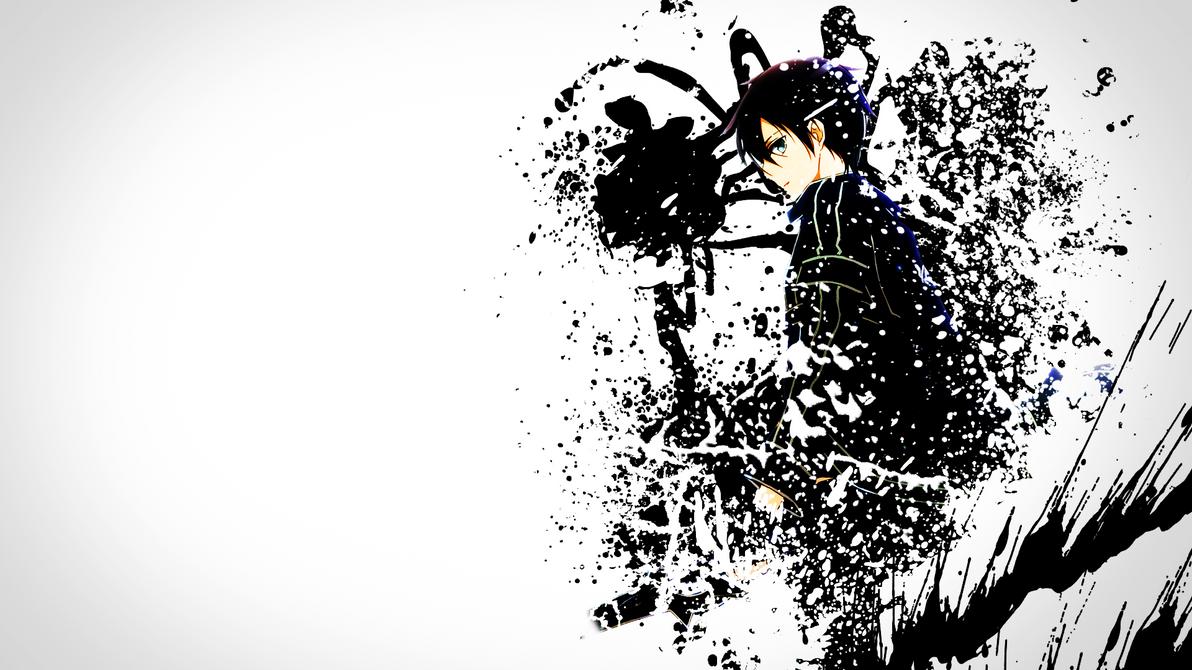 Kirito Splatter by DesHermes