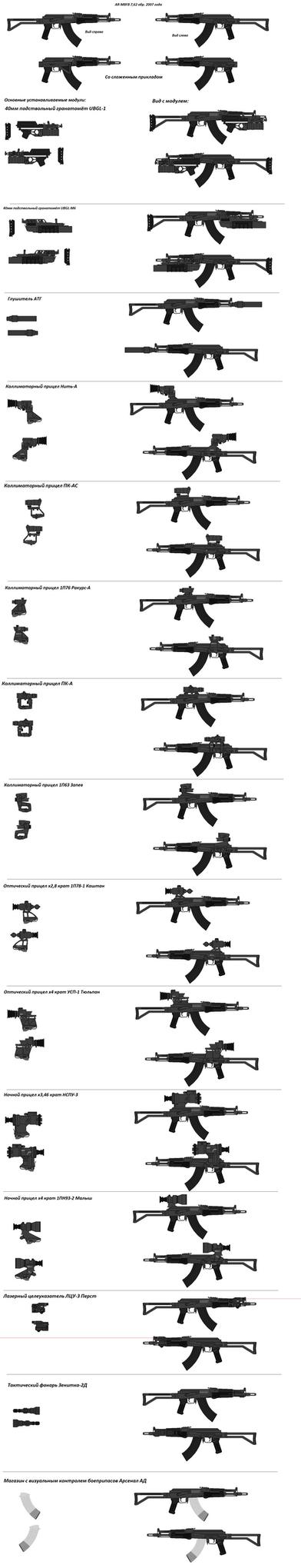 AR-M8FB 7,62 (2007) by IoshkinKot
