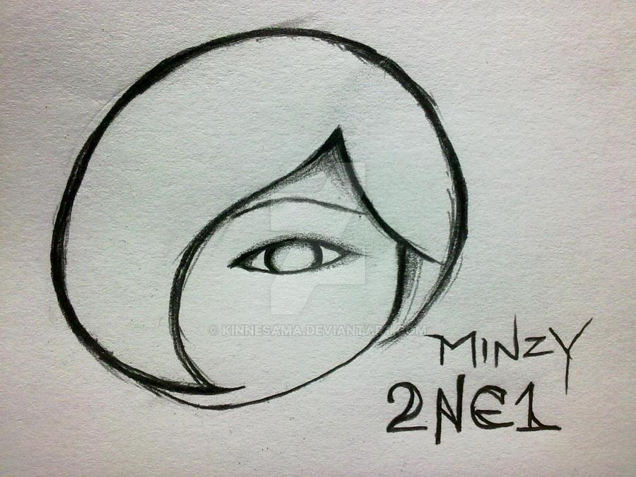 Minzy from 2NE1 by kinnesama