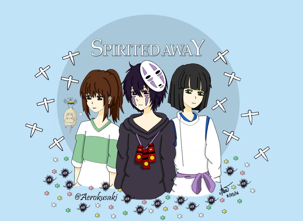 spirited away fan art no face gijinka by aerokusaki on