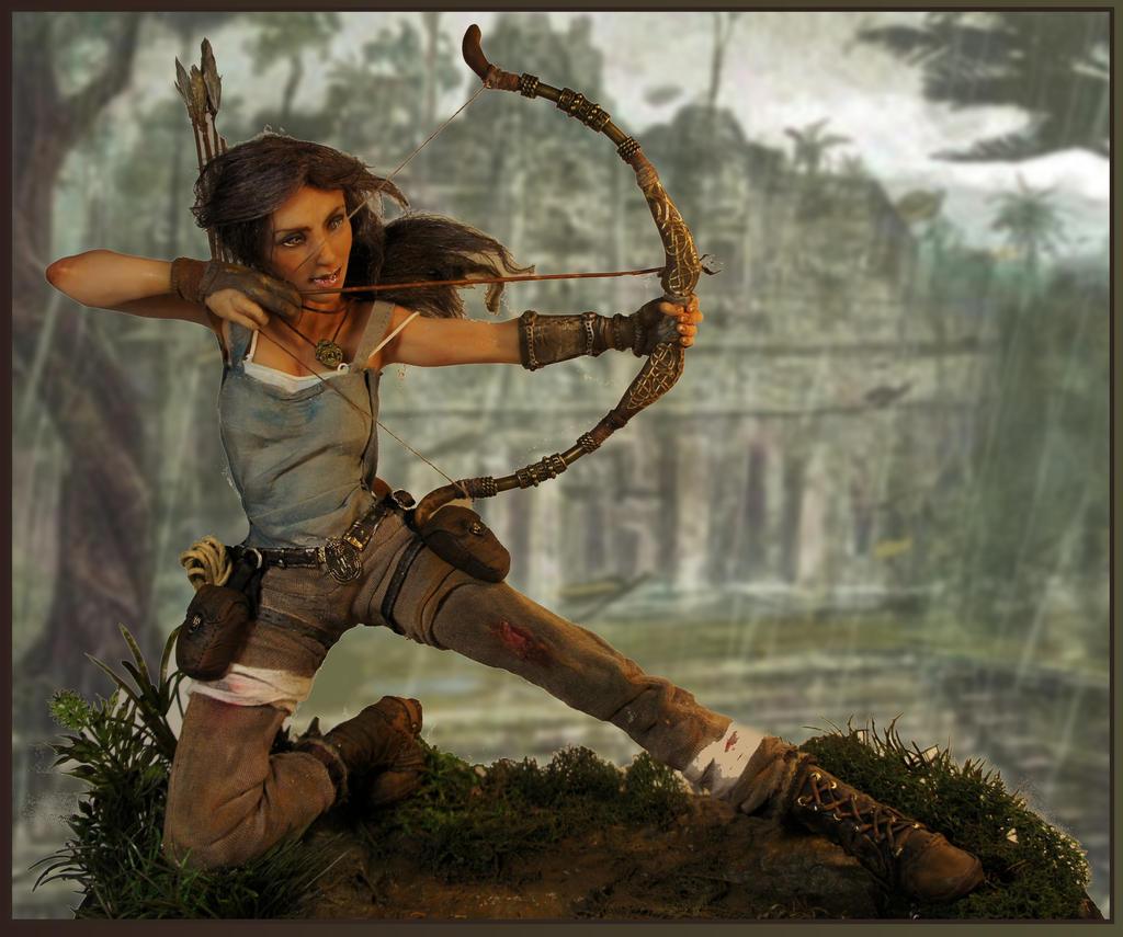 Lara Croft 2013 by MarylinFill