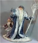 Ded Moroz and Snegurochka