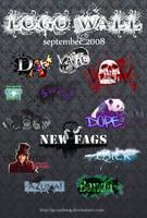 Logo Wall September 2008 by Gymdawg