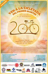 200 Cycling tours...