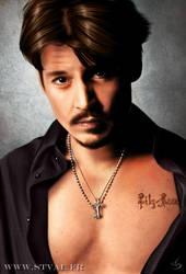Johnny Depp by StephanieVALENTIN