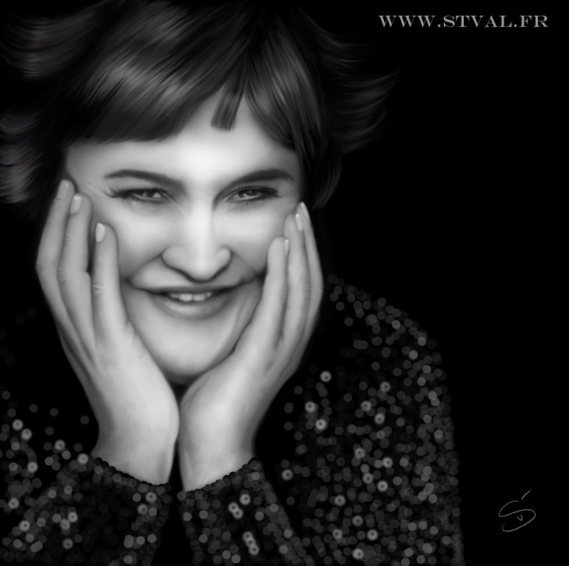 Susan Boyle by StephanieVALENTIN