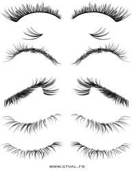 Eyelashes Brushes by StephanieVALENTIN