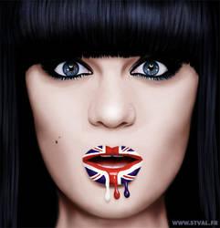 Jessie J - Digital painting by StephanieVALENTIN