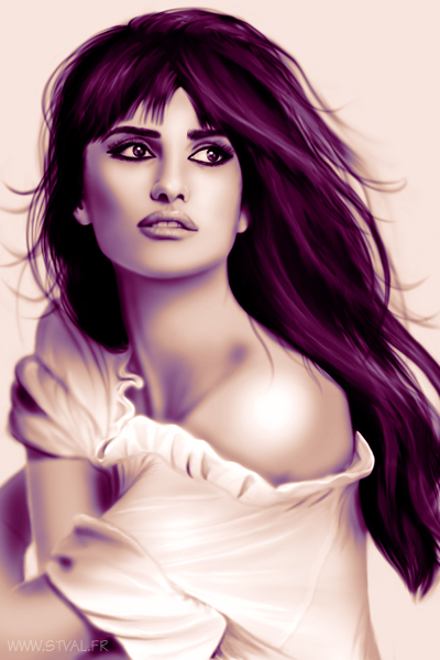 Penelope Cruz by StephanieVALENTIN