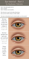 How to draw realistic EYE - Part 3/3