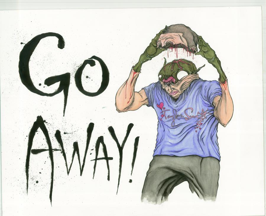Go Away by sbelmarsh