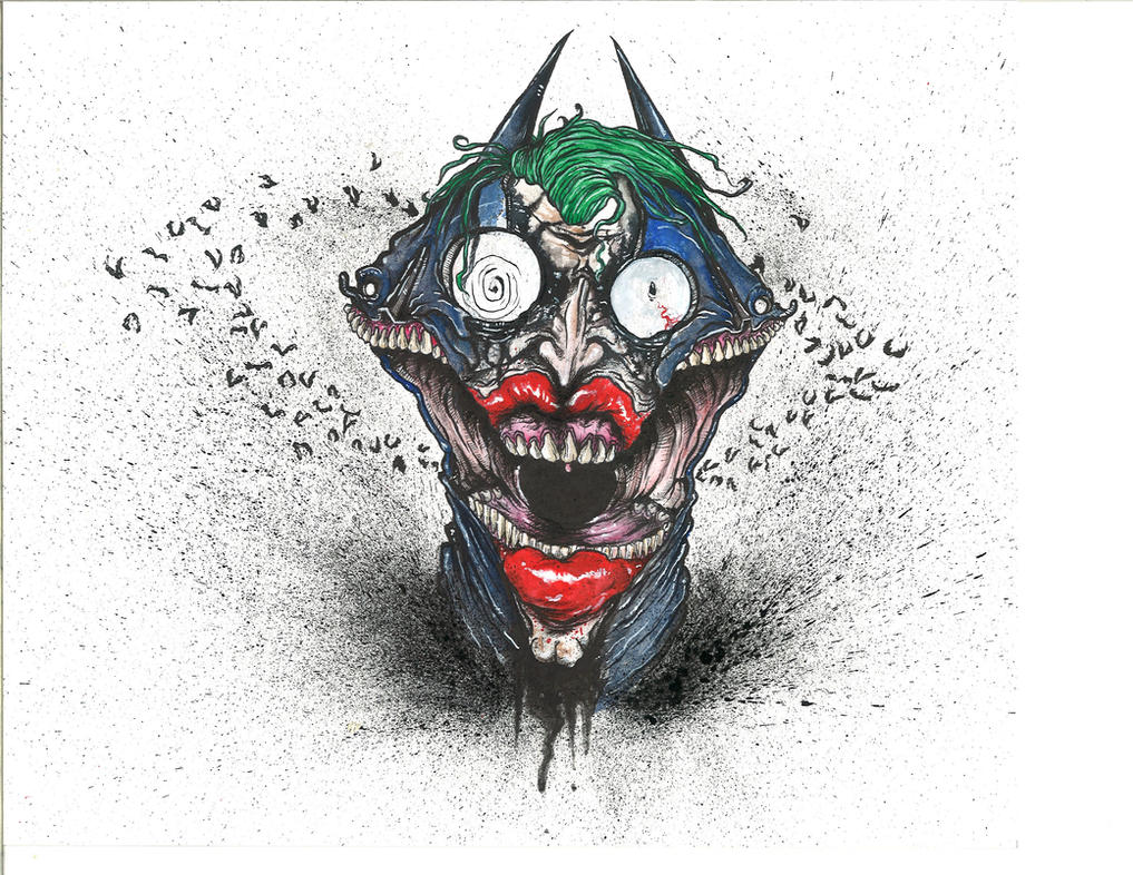 Batman Joker Mashup by sbelmarsh