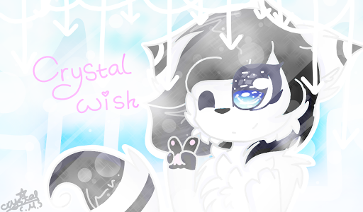 Art Trade with Crystal WIsh by CrystalMoonlightCMS