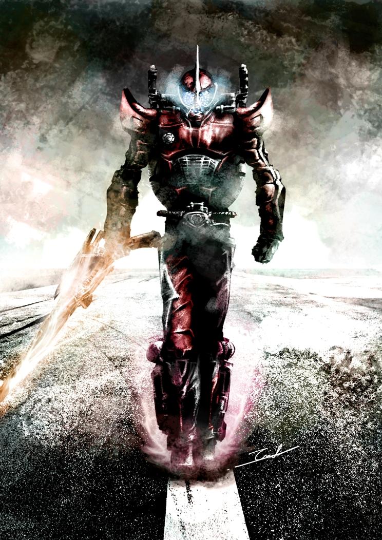 Kamen Rider Accel by TAKA-F