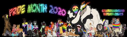 Pride Month 2020! -Comic Creator Collaboration-