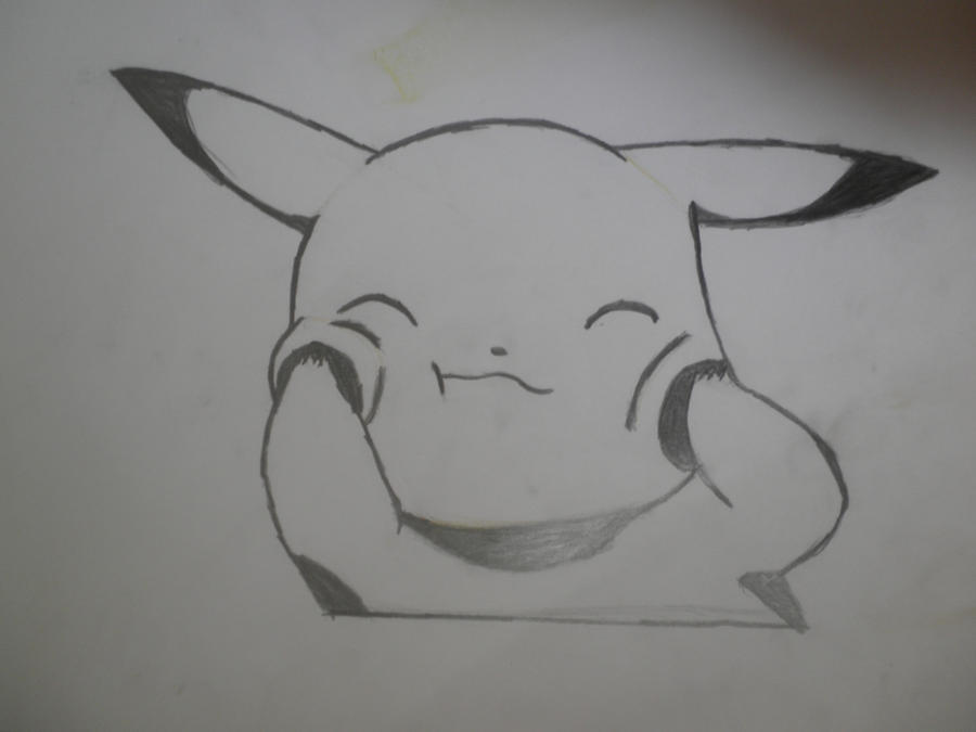 cute pikachu by xxmadmtvxx