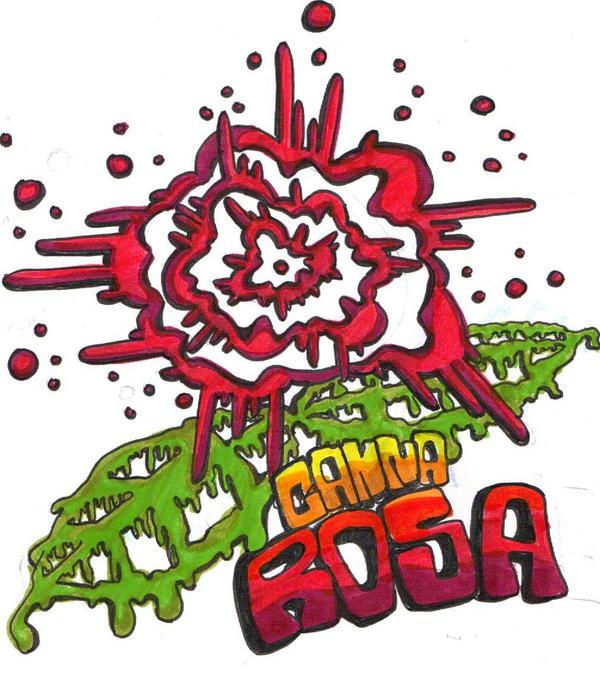Canna Rosa Logo by Ecroy