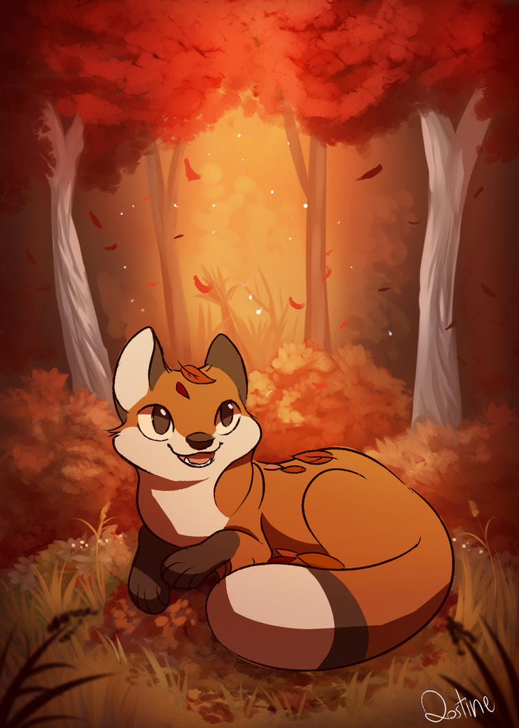 Fall by Qostine