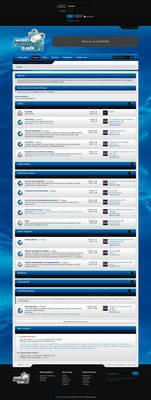 Blue Gaming Forum Design - FOR SALE