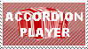 Accordion Player Stamp by PrussianGala