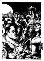 The Misfits (1994-2001 Formation) by Arealsketch
