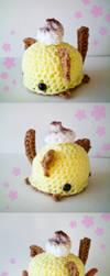 Lemon Meringue Pie Kitty by bobbin4apples