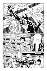 BATMAN BEYOND #7 PAGE 7 by StephenThompson