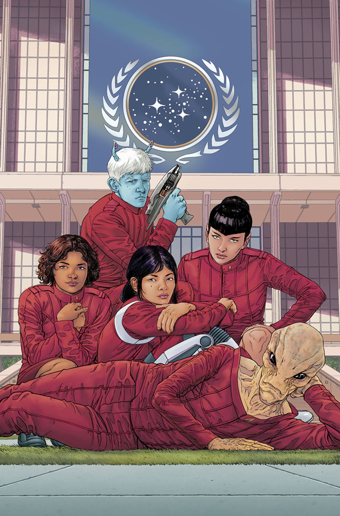 Starfleet Academy #5 cover by StephenThompson