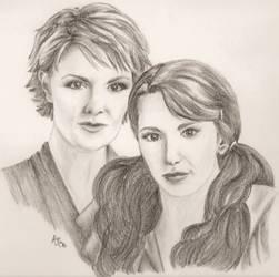 Sam and Vala by GateJunkie