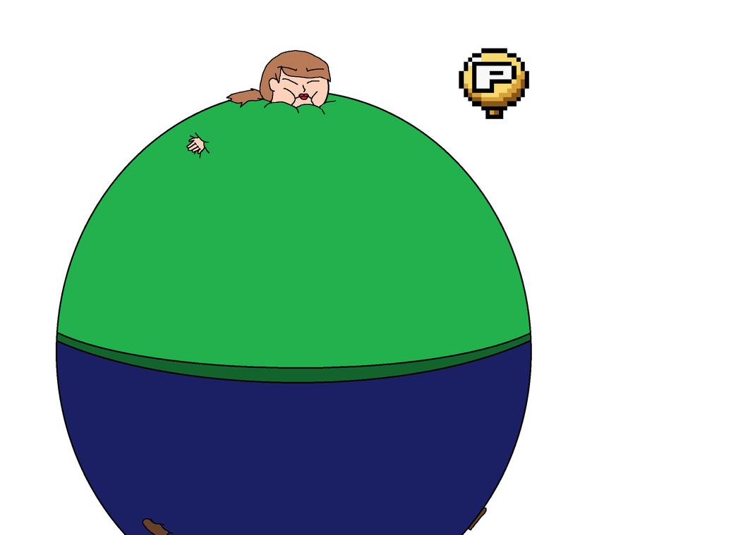 curse you P-balloon by BalloonChey