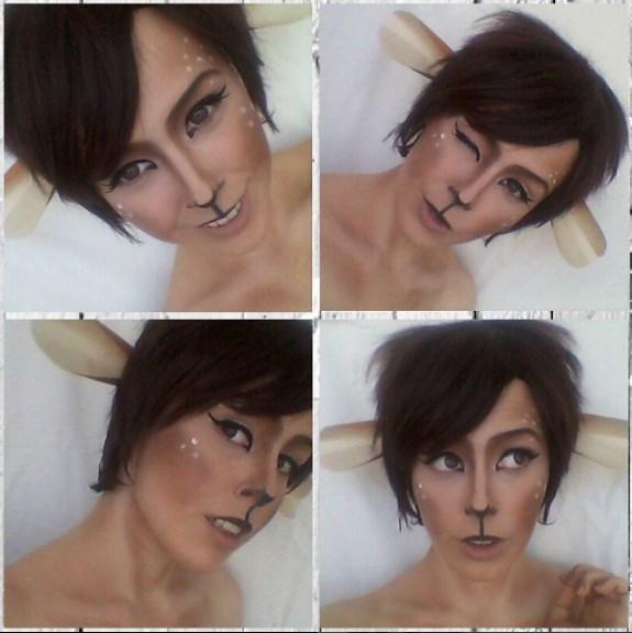 The Fawn makeup test by Kli-Kli
