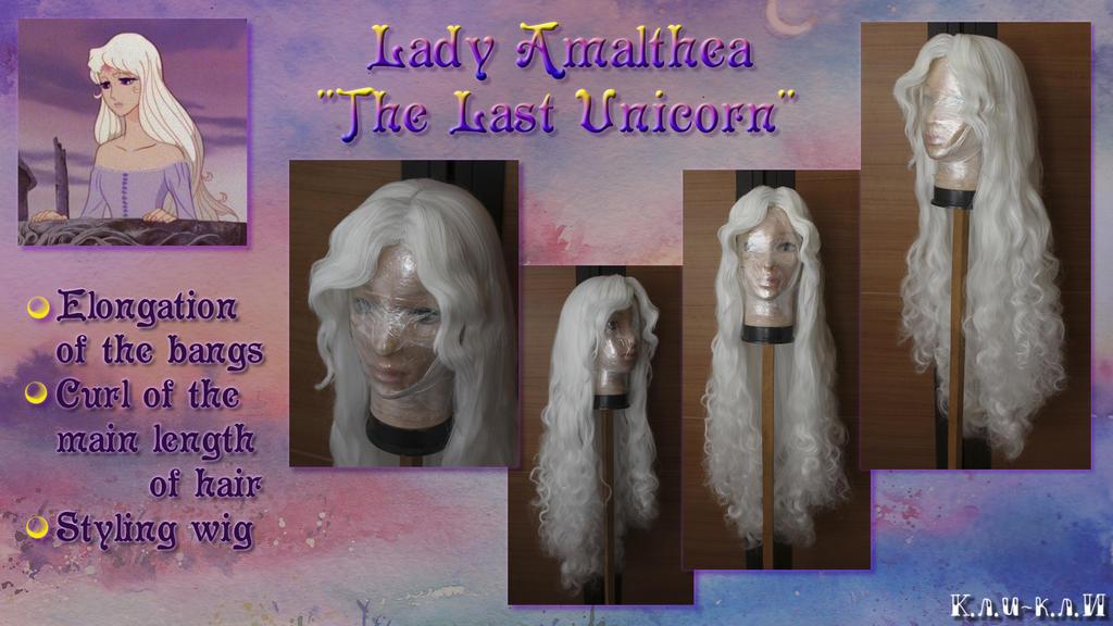 Wig - Lady Amalthea, The Last Unicorn by Kli-Kli