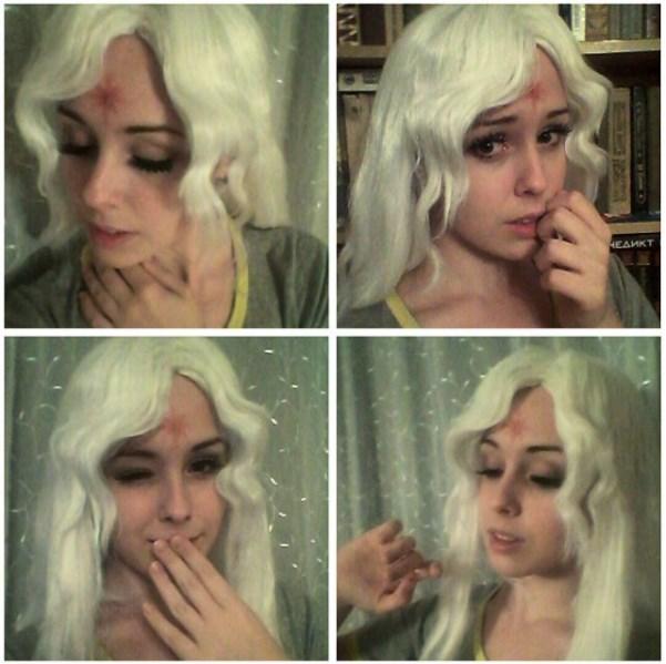 Makeup test Lady Amalthea by Kli-Kli