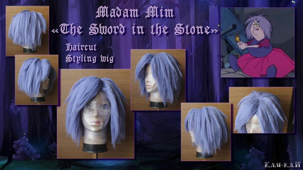 Wig - Madam Mim, The Sword in the Stone by Kli-Kli