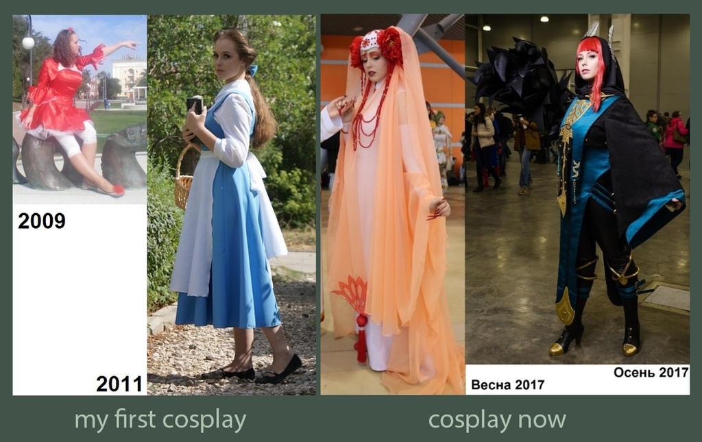 My first and last cosplay by Kli-Kli